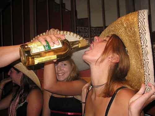 El tequila se toma solo