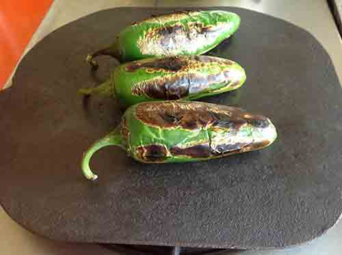 Tuesta los chiles