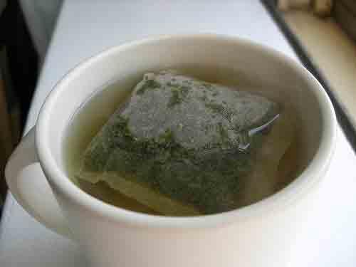 Toma té verde