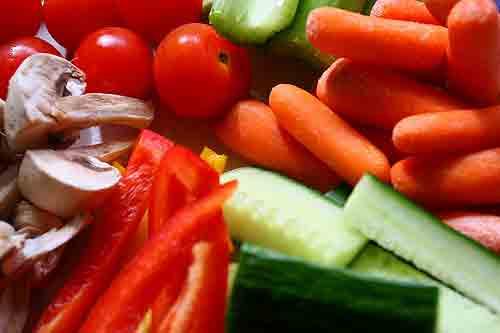 Come verduras para eliminar las ojeras