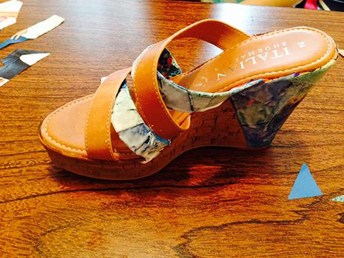 Decorar zapatos Paso 7