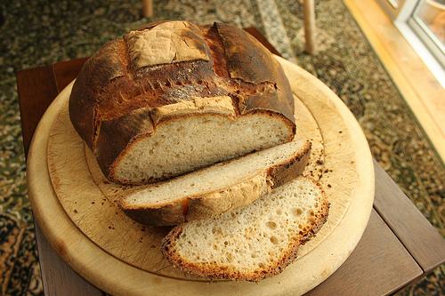 Cómo hacer pan amasado