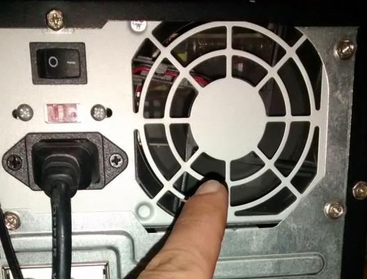 Revisa si funciona el ventilador