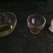 Cómo hacer una vinagreta base