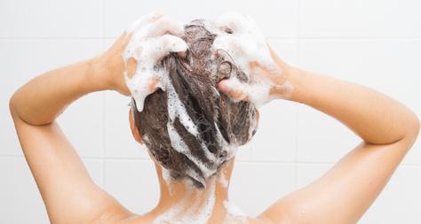 Lávate el cabello