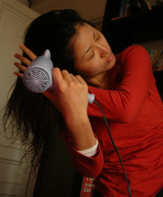Sécate el cabello