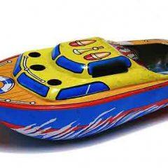 Barco a vapor casero