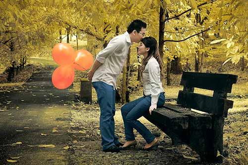Celebran el día de San Valentín con ella