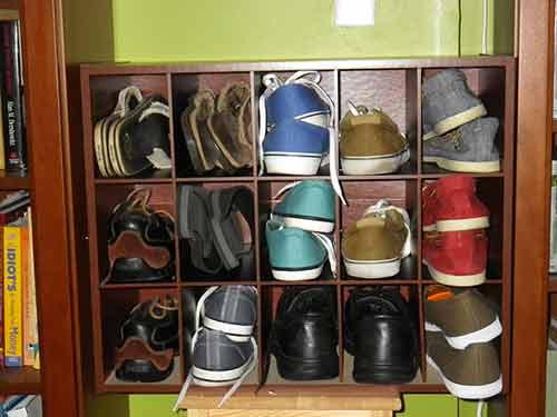 Consigue un casillero para zapatos