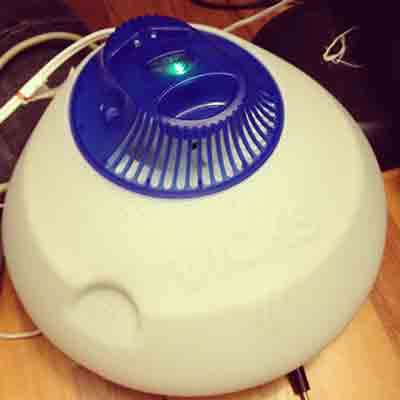 Usa un humidificador