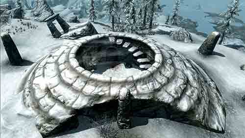 Dirígete al Santuario del Velo de la Nieve