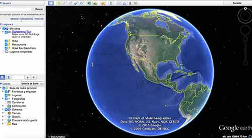 Abre Google Earth
