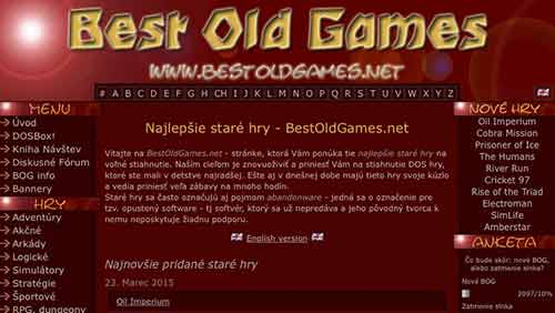 Visita el sitio web www.bestoldgames.net