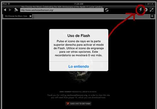 Activa Flash en Photon