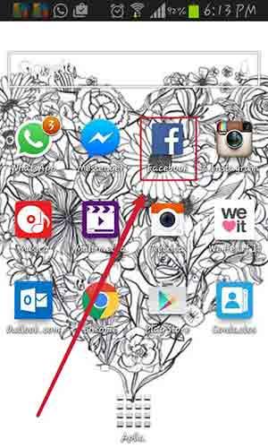 Abre Facebook