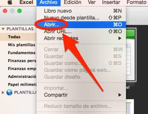 """Haz clic en """"Archivo"""", luego haz clic en """"Abrir"""""""