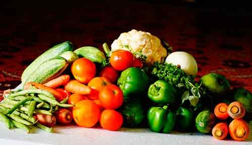 Come muchas verduras