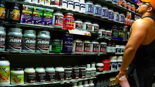 Elige un suplemento de proteínas