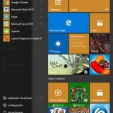 Cómo usar el menú de inicio de Windows 10
