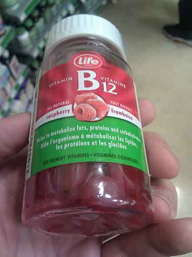 Cómo tomar vitamina B12