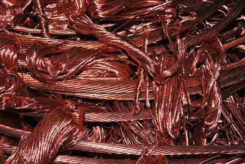 Vende alambre de cobre