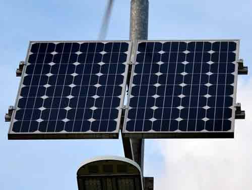 Elige páneles solares monocristalinos